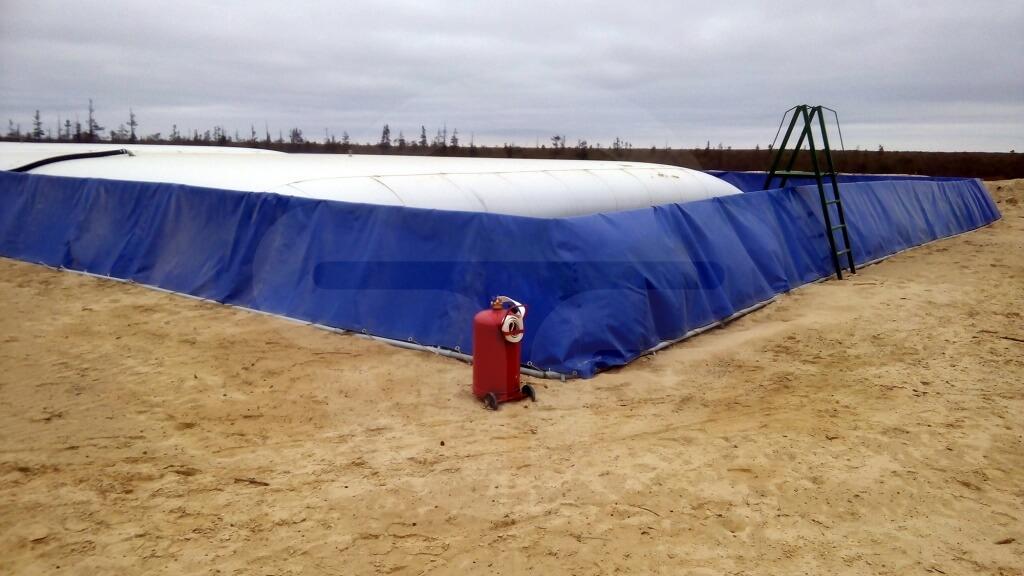 Гибкий резервуар для нефти и нефтепродуктов — статьи ГК «Нефтетанк»