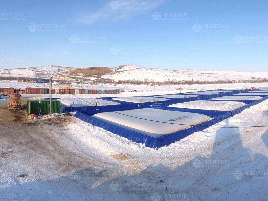 Полимерные эластичные резервуары для топлива.