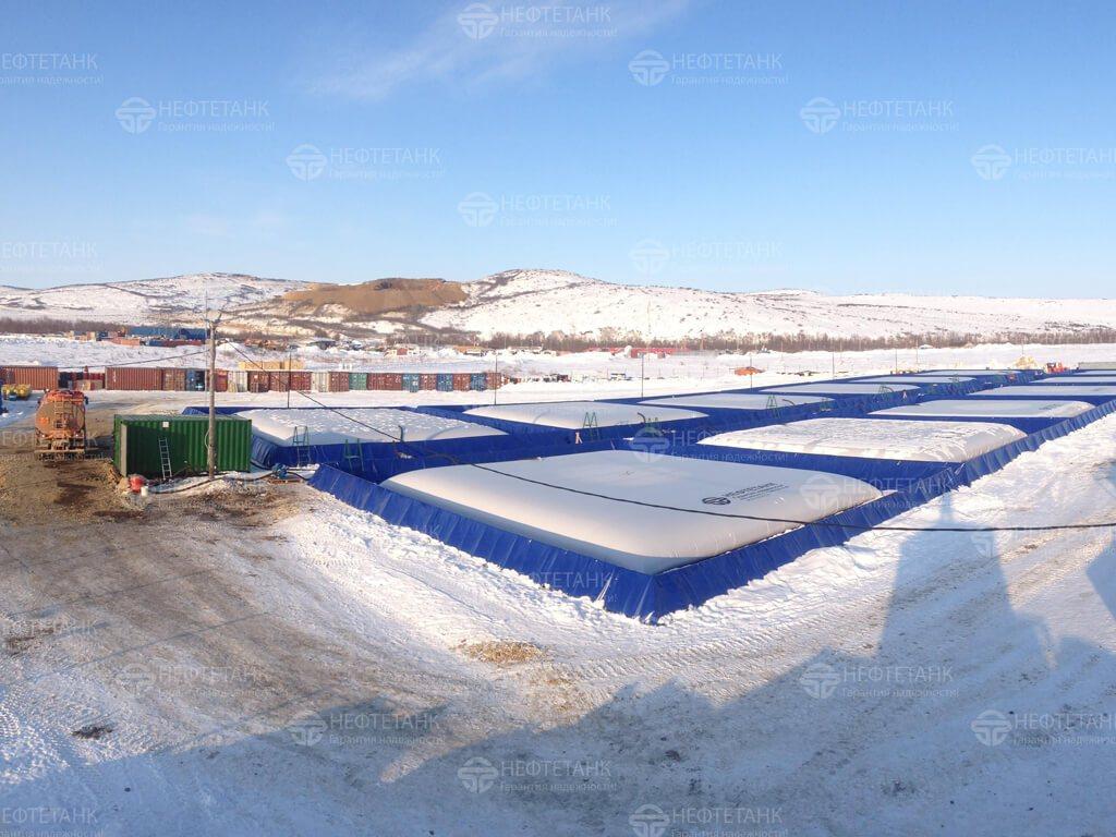 Мягкие резервуары для нефтепродуктов